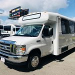 Ford E450 25 passenger charter shuttle coach bus for sale - Gas 3