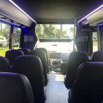 Ford E450 23 passenger charter shuttle coach bus for sale - Gas 6
