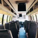 Chevy C5500 29 passenger charter shuttle coach bus for sale - Diesel 6