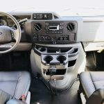 Ford E450 24 passenger charter shuttle coach bus for sale - Gas 8