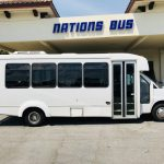 Chevy 4500 20 passenger charter shuttle coach bus for sale - Gas 3