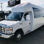 Ford E450 24 passenger charter shuttle coach bus for sale - Gas 3