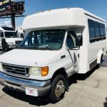 Ford E350  12 passenger charter shuttle coach bus for sale - Gas 3