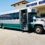 Chevy C5500 33 passenger charter shuttle coach bus for sale - Diesel 1