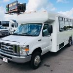 Ford E450 16 passenger charter shuttle coach bus for sale - Gas 3
