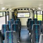 Ford E450 16 passenger charter shuttle coach bus for sale - Gas 7