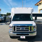 Ford E450 28 passenger charter shuttle coach bus for sale - Gas 2