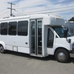 Chevy 4500 20 passenger charter shuttle coach bus for sale - Gas 1