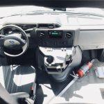 Ford E450 25 passenger charter shuttle coach bus for sale - Gas 8