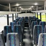 Ford F550 29 passenger charter shuttle coach bus for sale - Diesel 6