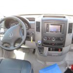 Mercedes 3500 16 passenger charter shuttle coach bus for sale - Diesel 8