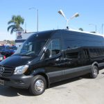 Mercedes 3500 16 passenger charter shuttle coach bus for sale - Diesel 3