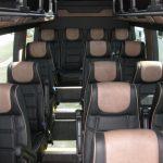 Mercedes 3500 16 passenger charter shuttle coach bus for sale - Diesel 6
