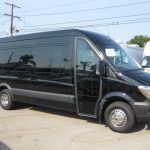Mercedes 3500 16 passenger charter shuttle coach bus for sale - Diesel 1