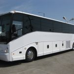 VanHool  57 passenger charter shuttle coach bus for sale - Diesel 3