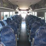 VanHool  57 passenger charter shuttle coach bus for sale - Diesel 7