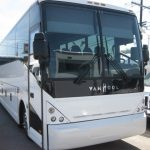 VanHool  57 passenger charter shuttle coach bus for sale - Diesel 2