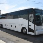 VanHool  57 passenger charter shuttle coach bus for sale - Diesel 1