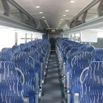 VanHool  57 passenger charter shuttle coach bus for sale - Diesel 5