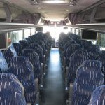 VanHool  57 passenger charter shuttle coach bus for sale - Diesel 6