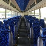 Prevost 56 passenger charter shuttle coach bus for sale - Diesel 4
