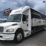 Freightliner M2 40 passenger charter shuttle coach bus for sale - Diesel 2