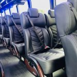 Freightliner M2 40 passenger charter shuttle coach bus for sale - Diesel 6