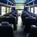 Freightliner M2 40 passenger charter shuttle coach bus for sale - Diesel 7