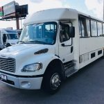 Freightliner M2 33 passenger charter shuttle coach bus for sale - Diesel 3