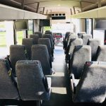Freightliner M2 33 passenger charter shuttle coach bus for sale - Diesel 7