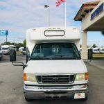 Ford E450 22 passenger charter shuttle coach bus for sale - Diesel 2