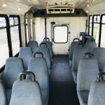 Ford E450 22 passenger charter shuttle coach bus for sale - Diesel 6