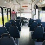 Ford E450 22 passenger charter shuttle coach bus for sale - Diesel 7