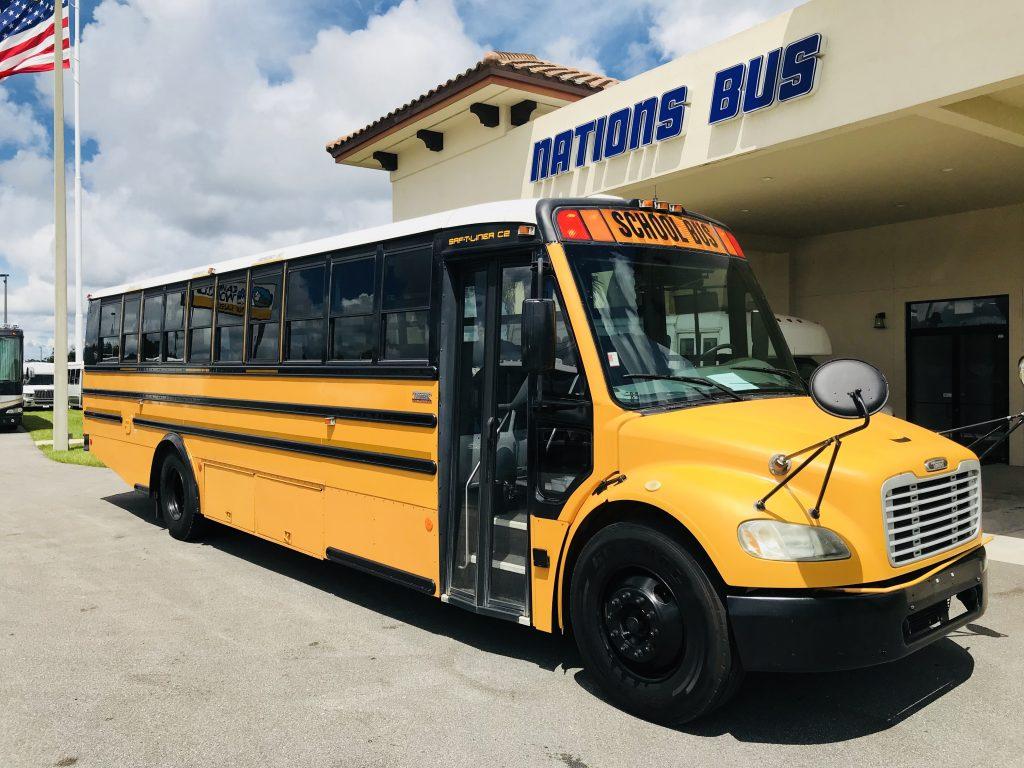 Freightliner M2 47 passenger charter shuttle coach bus for sale - Diesel