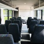 Ford F550 29 passenger charter shuttle coach bus for sale - Diesel 7
