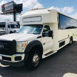 Ford F550 29 passenger charter shuttle coach bus for sale - Diesel 3
