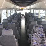 MCI 53 passenger charter shuttle coach bus for sale - Diesel 6