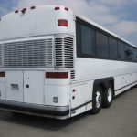 MCI 53 passenger charter shuttle coach bus for sale - Diesel 3