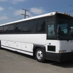 MCI 53 passenger charter shuttle coach bus for sale - Diesel 1
