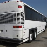 MCI 47 passenger charter shuttle coach bus for sale - Diesel 3