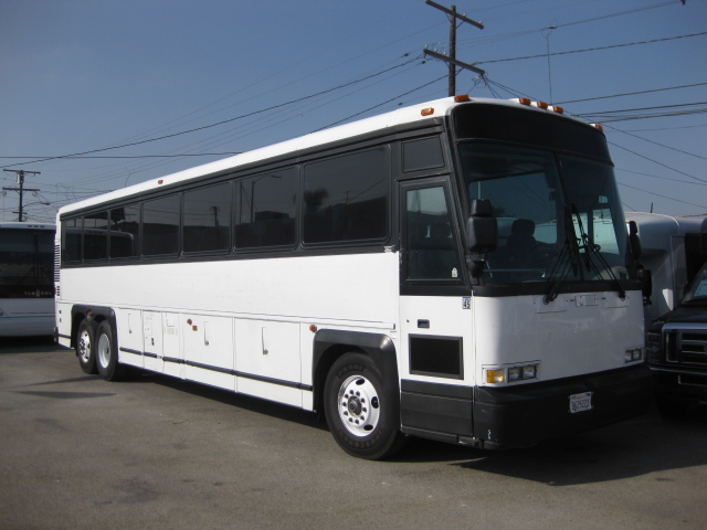 MCI 47 passenger charter shuttle coach bus for sale - Diesel