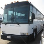 MCI 47 passenger charter shuttle coach bus for sale - Diesel 4