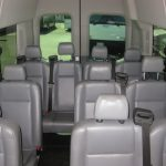 Ford Transit 350 14 passenger charter shuttle coach bus for sale - Gas 5