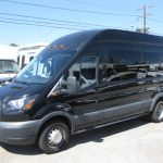 Ford Transit 350 14 passenger charter shuttle coach bus for sale - Gas 3