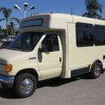 Ford E350  15 passenger charter shuttle coach bus for sale - Gas 3