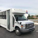 Ford E450 25 passenger charter shuttle coach bus for sale - Gas 1