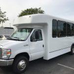 Ford E450 25 passenger charter shuttle coach bus for sale - Gas 3