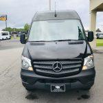 Mercedes 3500 14 passenger charter shuttle coach bus for sale - Diesel 2
