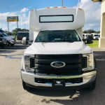 Ford F-550 29 passenger charter shuttle coach bus for sale - Gas 2