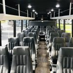 Ford F-550 29 passenger charter shuttle coach bus for sale - Gas 5